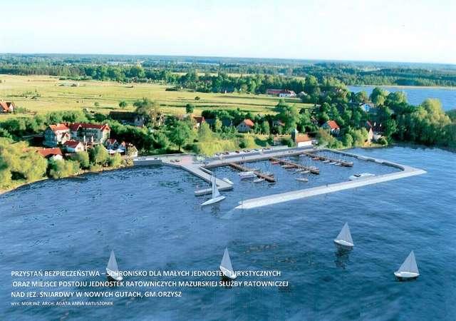 Nowy port na Mazurach w 2018 !