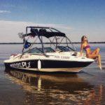 wakeboarding-gizycko-wieża-na-motorówce