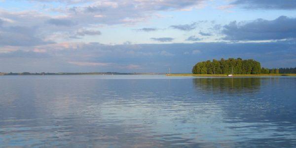 jezioro mamry Mazury