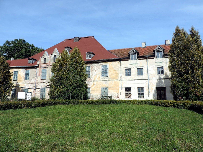 Mazury-sztynort-pałac