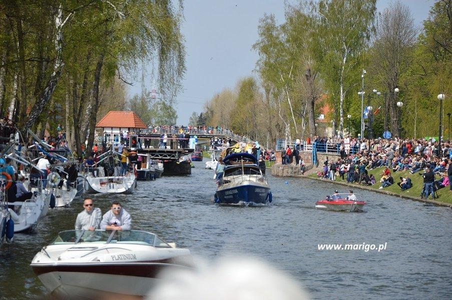 rozpoczęcie-sezonu-giżycko-mazury-kanał-łuczański
