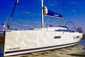 jacht żaglowy antila 33