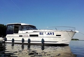 houseboat czarter Mazury Nautika 1080 Soley