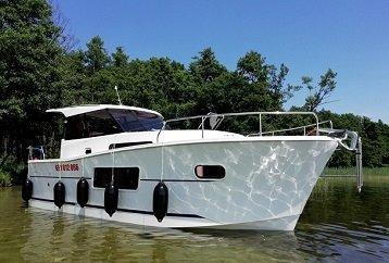houseboat Nautika 830 Mazury