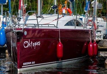 czarter jachtu sedna 30 Mazury Piękna Góra