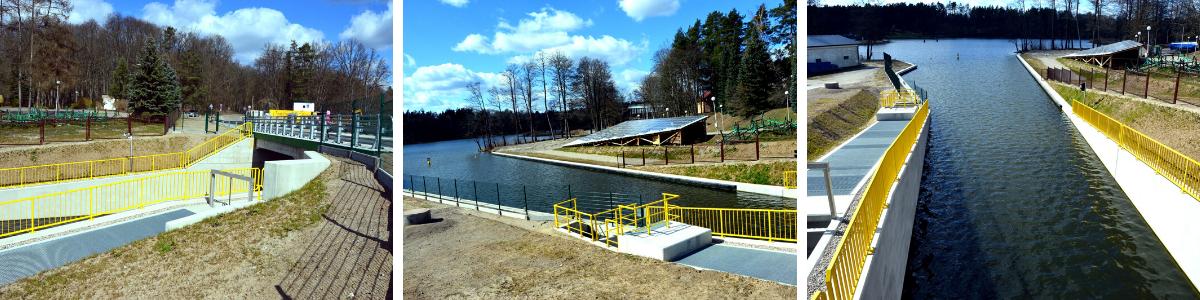 nowa sluza guzianka 2 od strony jeziora Bełdany