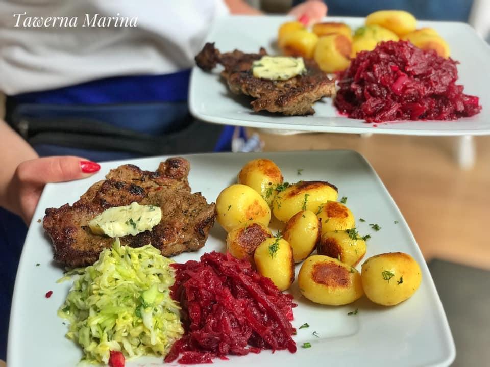tawerna marina giżycko obiad