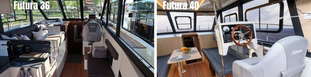 futura 36 kontra jacht futura 40