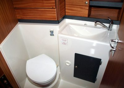 kabina wc jachtu nautika 1000