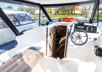kokpit jachtu nexus 870