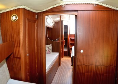 kabina dziobowa Tango 33 Mazury