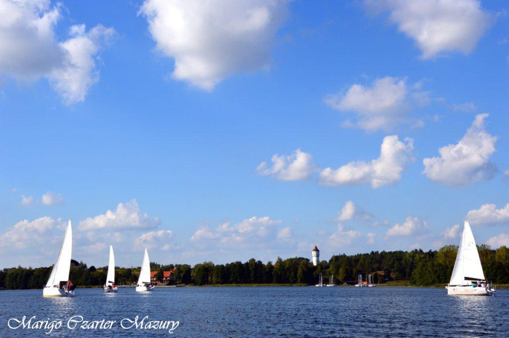 jezioro święcajty żagle