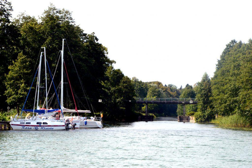 kanał mazurski wejście
