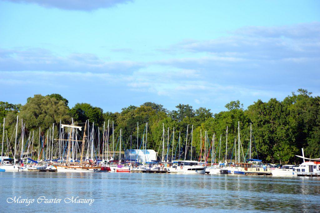 port Sztynort lato