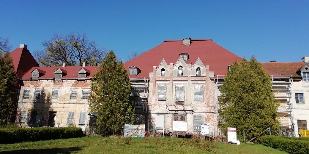 sztynort pałac remont 20202
