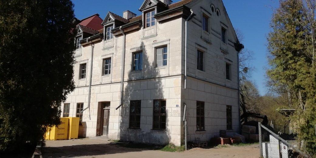 sztynort pałac remont