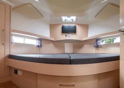futura 36 duża kabina dziobowa