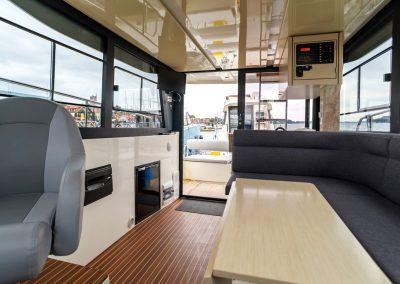 houseboat futura 36 wnętrze
