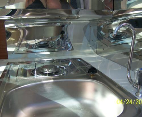 kuchenka w jachcie motorowym quicksilver 650